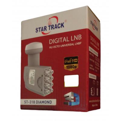 Star Track ST-318 Diamond Okto Universal LNB