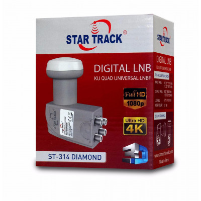 Star Track ST-314 Diamond Quad Universal LNB